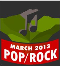 March 2013 Pop-Rock