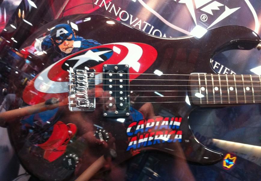 Capt. America Guitar
