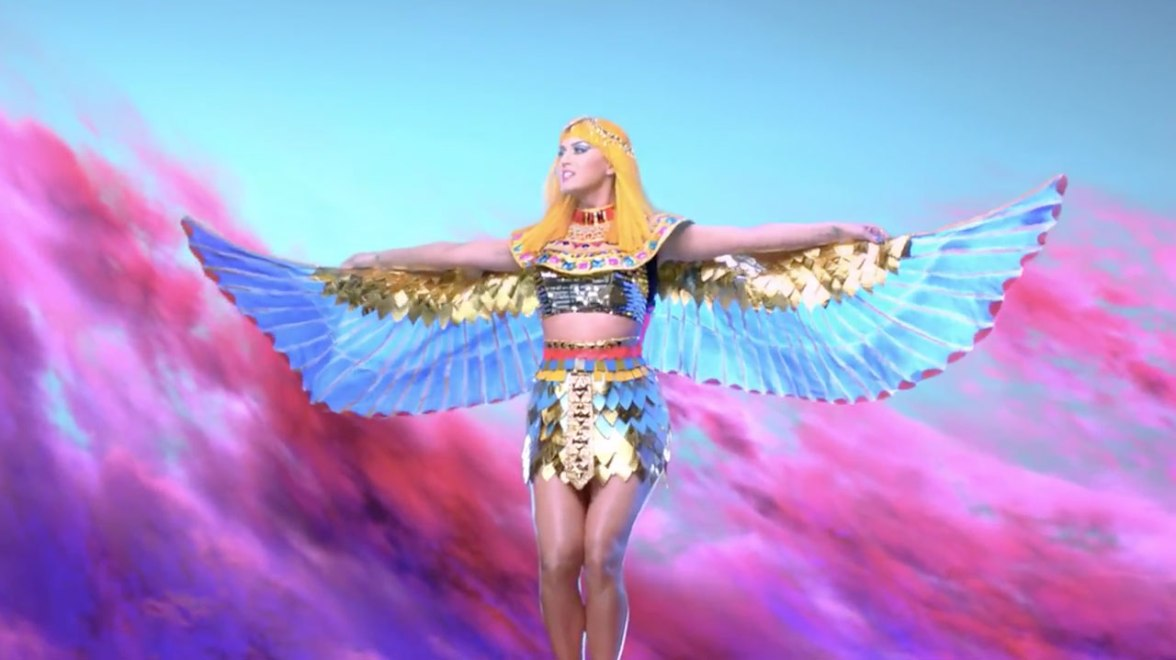 Katy Perry, YouTube, Dark Horse