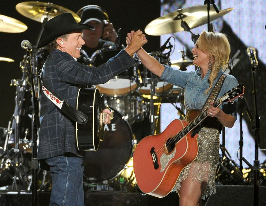 ACM Awards, 49th Academy of Country Music Awards, George Strait, Miranda Lambert, country music