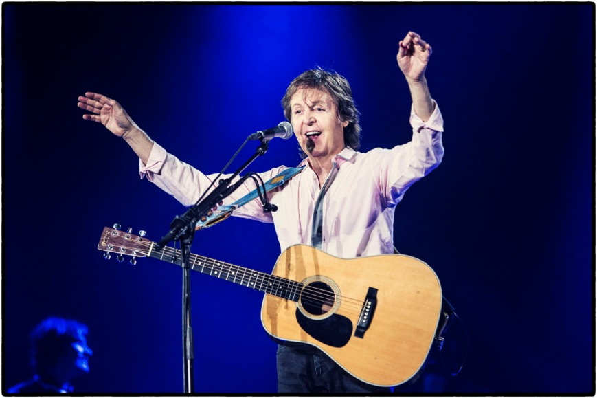 Paul McCartney in Tokyo, November 2013 (phot: paulmccartney.com)