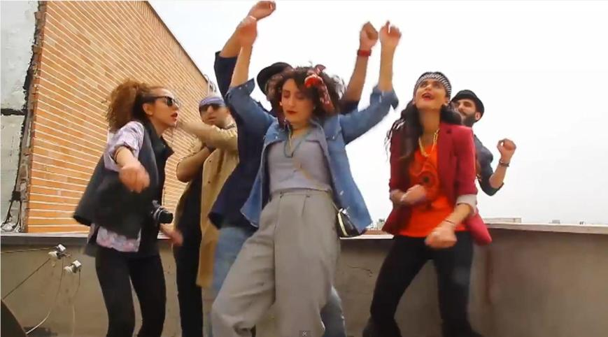 Six young Iranian citizens were arrested for making a Pharrell tribute video (photo: nbcnews.com)