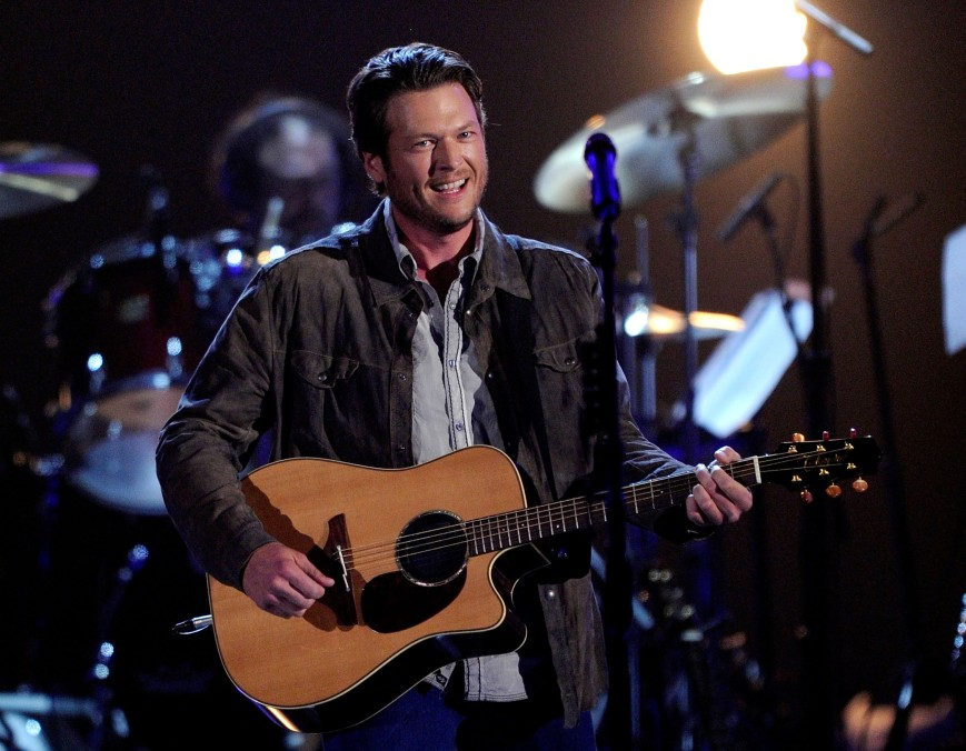 Country superstar Blake Shelton (above) turned CMT Awards post-party into a full-fledged karaoke session (Photo: courtesy wyrk.com)
