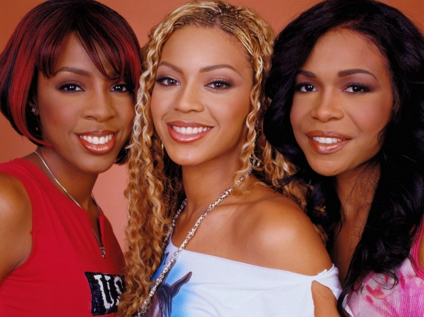 "Destiny's Child members reunite in video for Michelle William's new single ""Say Yes."" (Photo: courtesy of edmsauce.com)"