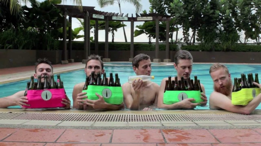 """The Bottle Boys covering """"Under The Sea"""" (Photo: courtesy of YouTube)"""