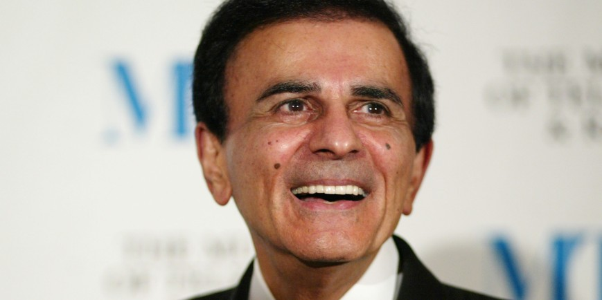 Legendary radio DJ Casey Kasem passed away early Sunday morning after 2-week hospitalization (photo: courtesy huffingtonpost.com)