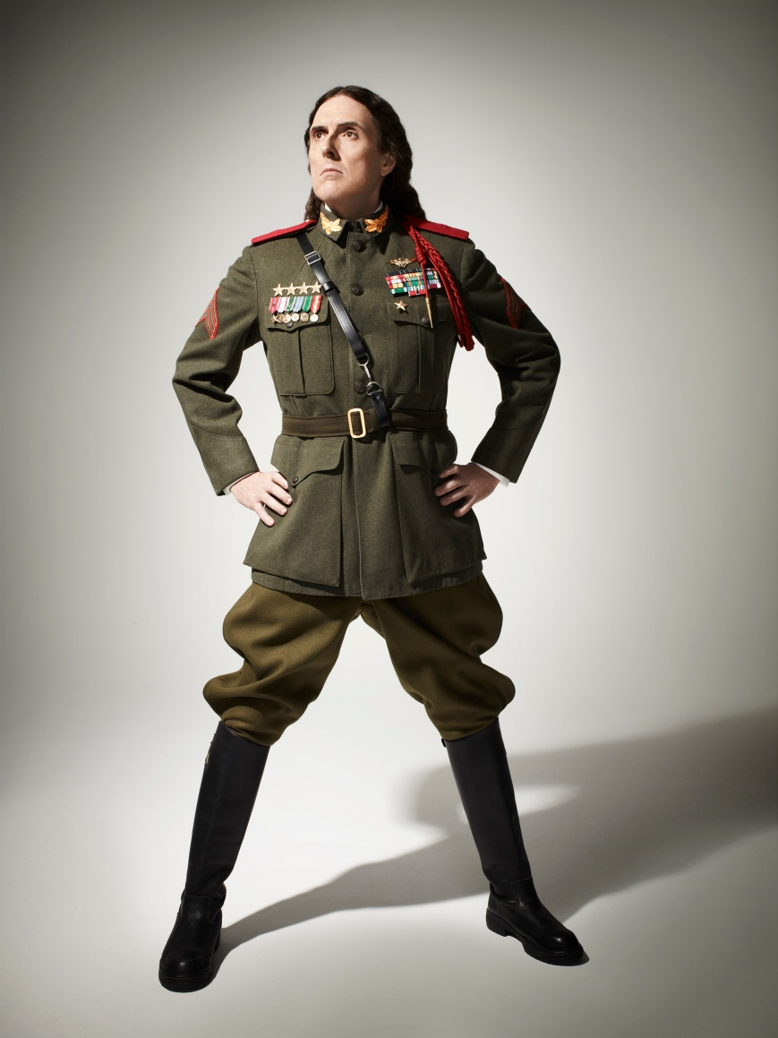 "Weird Al Yankovic dropped his 14th studio album, Mandatory Fun, today along with a new cameo-laden video for his new single, ""Tacky."" (Photo: courtesy of rcarecordspress.com)"