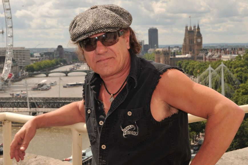 AC/DC frontman Brian Johnson  (Photo: courtesy of www.mirror.co.uk)